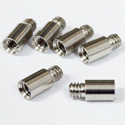 NCL spare extension posts x 6 replacement interscrews for photo album refills
