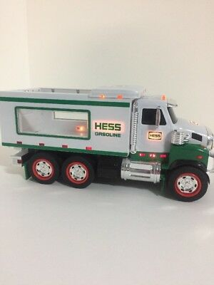 """Hess 2008 Collectible Gasoline Dump Truck, Lights/Sounds Tested Working 10.5"""""""
