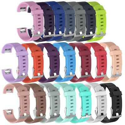 Replacement Wristband Watch Bands Silicone Sport Bracelet for Fitbit Charge 2