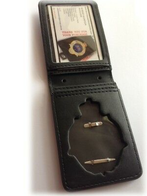 WAPOL Badge Wallet with Cut Out