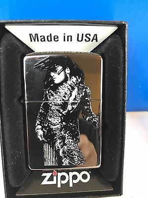 Super Rare Zippo Lighter Lenny Kravitz mama said Album Cover Never Fired New Nib