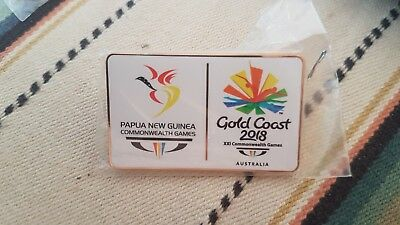 Commonwealth Games Pin 2018 Large