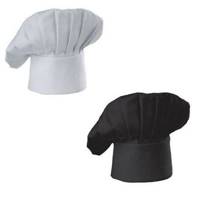 Adjustable Polyester Elastic Cotton Blend Kitchen Cooking Chef Cap For Unisex