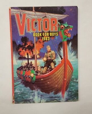 Vintage Victor Book For Boys - 1983 Annual Not Price Clipped (5)