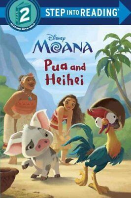 Step into Reading: Pua and Heihei by RH Disney Staff (2017, Hardcover)