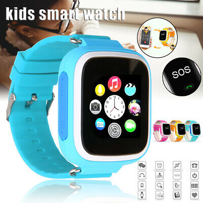 reloj inteligente niños Kids SmartWatch GPS Touch SOS Phone Call IOS Android