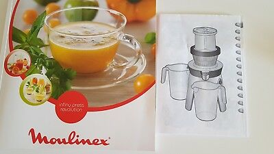 Entsafter Slow Juicer Moulinex Infiny Press Revolution Low Speed Technology