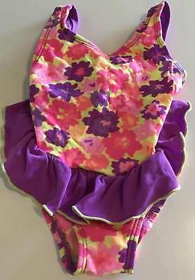 The Children's Place Girls One Piece Swim Bathing Suit Size 6-12 Months