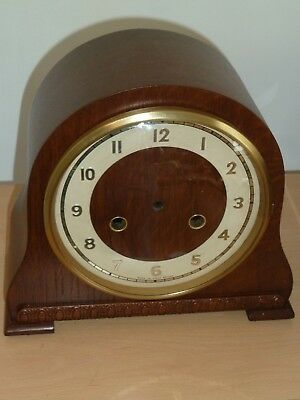 1950's striking clock case with bezel - very good condition