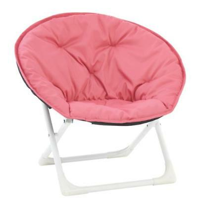 Portable Kids Moon Chair Durable Indoor Outdoor Camping Garden Children Seat