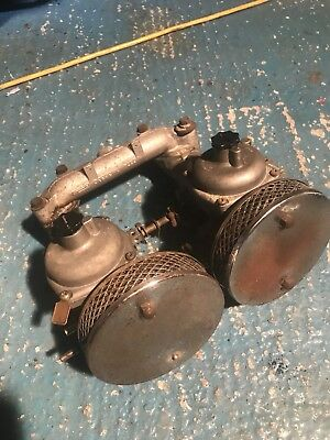Zenith Carburettors with manifold. From A MK3 Triumph Spitfire