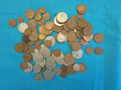 Coins of Ireland - Great Beginner's Set of 103 in Lot - 42 Different Coins