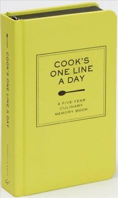 Cook's One Line a Day : A Five-Year Culinary Memory Book by Chronicle Books...