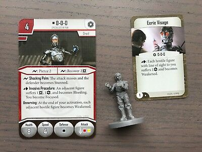 Star Wars Imperial Assault - 0-0-0 Figure and Deployment and Skirmish Cards