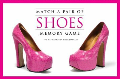Match a Pair of Shoes Memory Game by Metropolitan Museum of Art Staff (2012,...