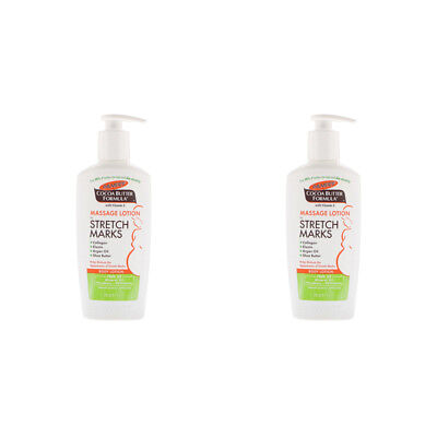 2X Palmer's Cocoa Butter Formula Massage Lotion For Stretch Marks Skin Health