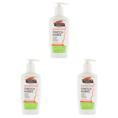 3X Palmer's Cocoa Butter Formula Massage Lotion For Stretch Marks Skin Health