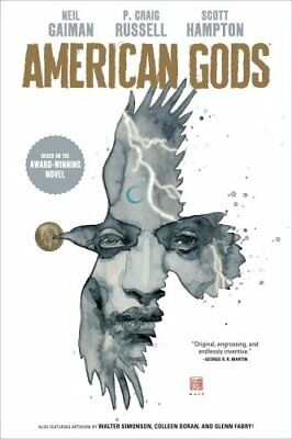 American Gods Volume 1: Shadows by P. Craig Russell and Neil Gaiman (2018,...