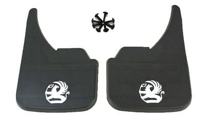 Mudflaps Universal Fit Mud Flap Vauxhall White  Astra Corsa Vectra Insignia New