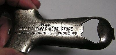 Penfield Illinois - Can opener - jar opener - 2 digit phone number - 1950's item