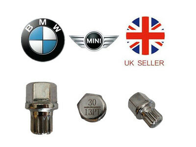 Mini, BMW Locking Wheel Nut Key ABC 30 Type 13 Splines