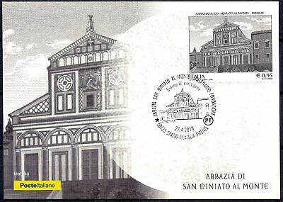 Italy 2018 Florence Abbey Church Buildings Architecture Religion Maxicard