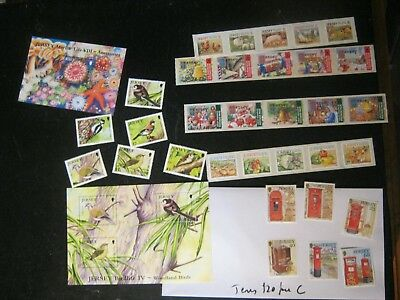 Lot C £100 Unmounted Mint Jersey Face In 5 Phot0S Mainly 21St Cenury Free Uk Pos