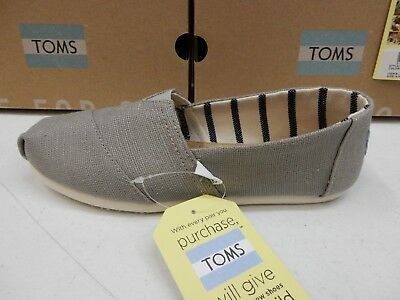 d1e11b6706e TOMS WOMENS SHOES Classic Morning Dove Heritage Canvas Size 6.5 ...