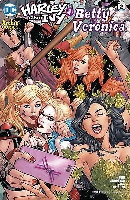 Harley & Ivy Meet Betty & Veronica #2 [DC Comics: 2017]