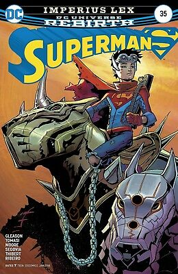 DC Rebirth: Superman #35 [DC Comics: 2017]