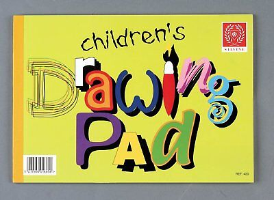 Silvine Children's Drawing Sketch Pad 20 Pages A4 Paper Arts & Crafts(REF-420)