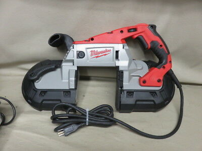 Milwaukee 6232-20 11 amp deep cut portable variable speed band saw power tool