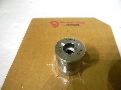 "Vermont Gage Class X Plus Steel Pin Gage Go 1.2650"" Plus Tolerance 191203110"