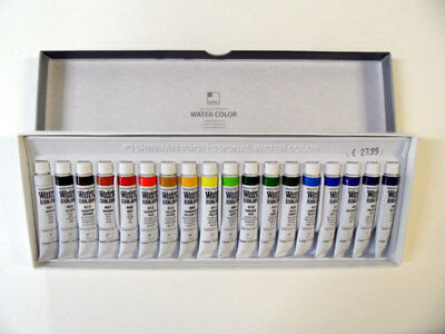 ShinHanart Professional Water Color 18 Tuben Set 7,5ml Tuben