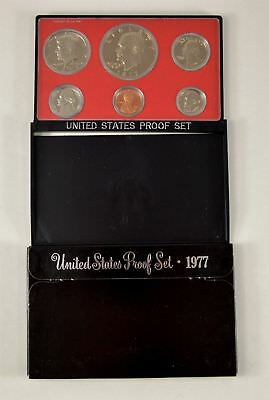 MBarr 1977 6 Coin United States Proof Set