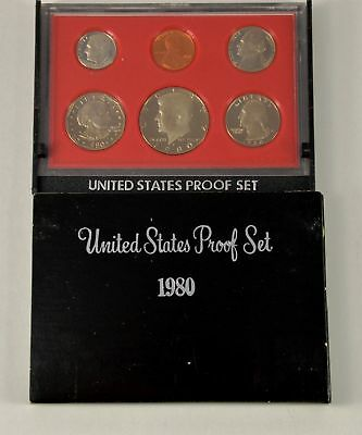 MBarr 1980 6 Coin United States Proof Set