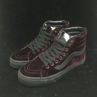 Vans SK8 Hi Reissue Velvet Violet Purple Black Gum Sole Shoes VN0A2XSBF17 c35e1f251