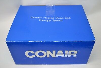 CONAIR NEW! Heated Stone Spa Therapy System
