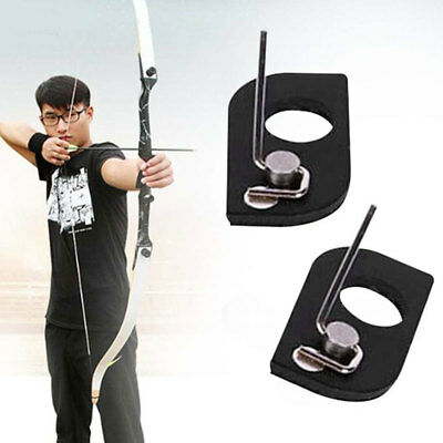 Compact Magnetic Arrow Rest Archery Tool Accessories Recurve Bow Black