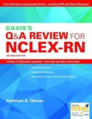 The ati nclex rn review by ati 2895 picclick daviss qa review for the nclex rn examination by kathleen a ohman fandeluxe Gallery