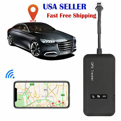 Gps Tracking Device For Car >> Mini Realtime Gps Car Tracker Locator Gprs Gsm Tracking Device