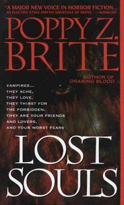 Lost Souls by Poppy Brite and Poppy Z. Brite (1993, Paperback)