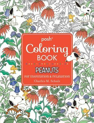 Posh Coloring Bks Adult Book Peanuts For Inspiration And
