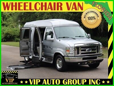 Ford E-Series Van Hightop Explorer Convesion Power Sofa Power Lift