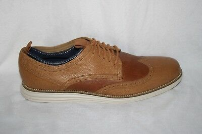 Mens Cole Haan C22525 Light Brown Leather Oxfords Us Size 13 (K107)