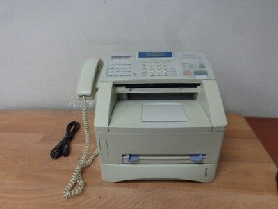 Brother Business Class Laser Fax Super G3 Fax Machine Fax4750e Used Working