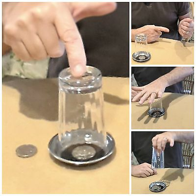 TOYS, GIFT IDEAS - Magic Coin Tricks for Kids. Coins In Glass.  (Watch Video)