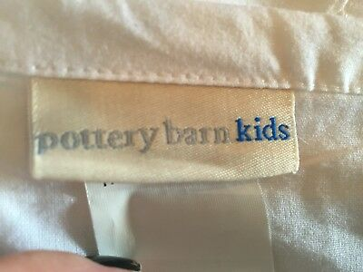 Pottery Barn Cot Valance Bed Skirt