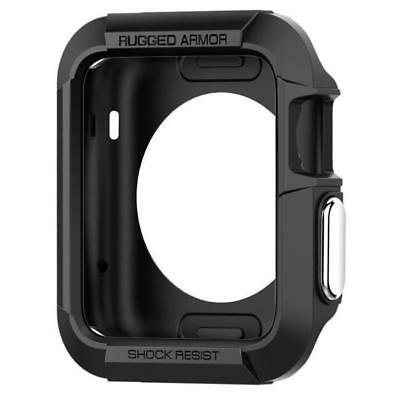 Rugged Armor Coque Apple Watch Serie 2 42mm Noir