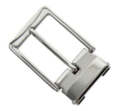 Belt Buckle Antique Silver Tone Clamp on Buckle fit's 1-3/8 inch (35mm) Wide